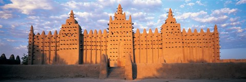 Framed Great Mosque Of Djenne, Mali, Africa Print