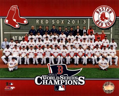 Boston Red Sox 2013 World Series Champions Team Sit Down