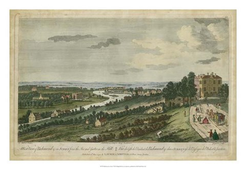 Framed Richmond in Surry Print