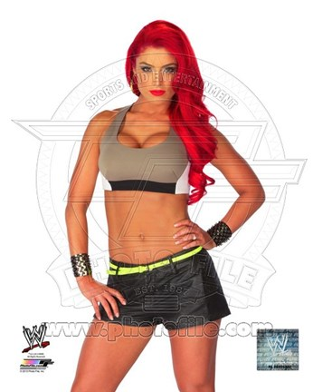 Framed Eva Marie 2013 Posed Print