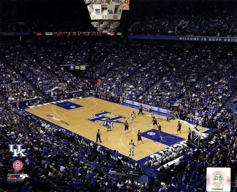 Rupp Arena University Of Kentucky Wildcats 2012 Fine Art