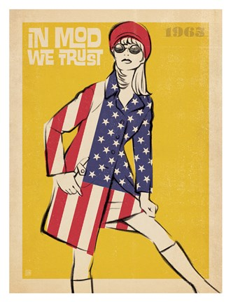 Framed In Mod We Trust Print