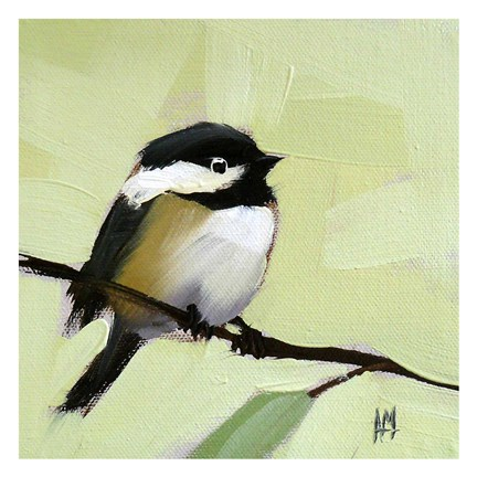 Framed Chickadee No. 143 Print