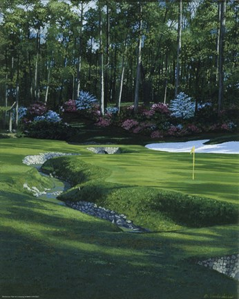 Golf Course 4 Fine Art Print by William Vanderdasson at ...