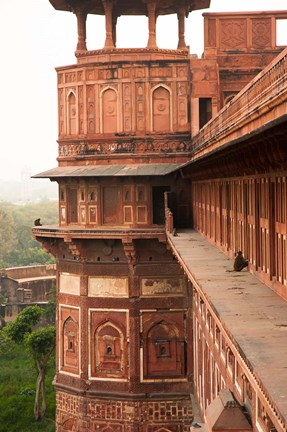 Framed Agra Fort, Agra, Uttar Pradesh, India Print