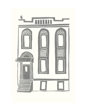 Framed Williamsburg Building 2 (199 Maujer Street) Print