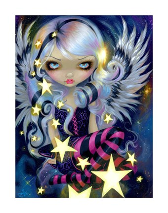 Framed Angel of Starlight Print
