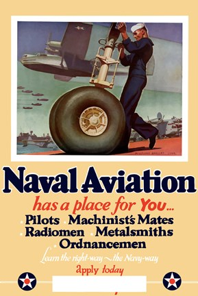Framed Naval Aviation has a Place for You Print