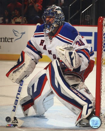 Henrik Lundqvist Hockey Goaltending Fine Art Print By Unknown At