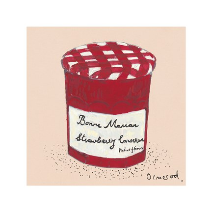 Framed Strawberry Conserve Print
