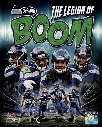 Seattle Seahawks Composite - Earl Thomas, Richard Sherman, Kam ...