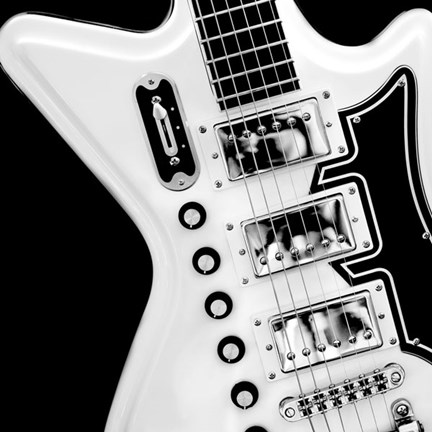 Classic Guitar Detail II by Richard James