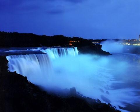 Niagara Falls Live 2016 Photo Winner Jeffery Harmer Rainbow At Night