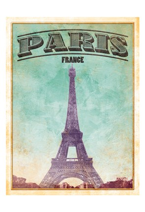 Framed Paris Cover Print