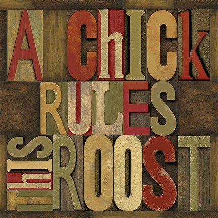 Framed Printers Block Rules This Roost I Print