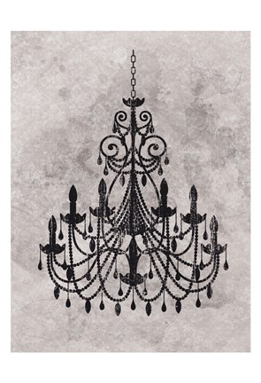 Framed Chandelier Print