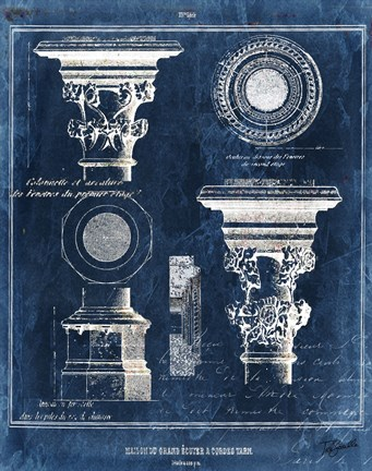 Vintage Blueprints I Fine Art Print by Tre Sorelle Studios at ...