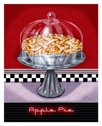 Framed Apple Pie Print