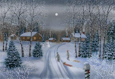 Christmas Memories Fine Art Print By Byron Wells At