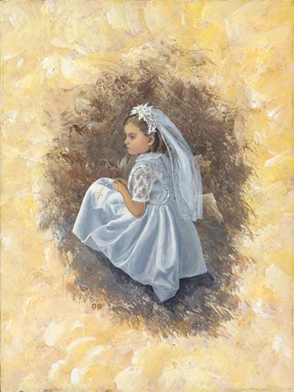 Framed First Communion 1 Print