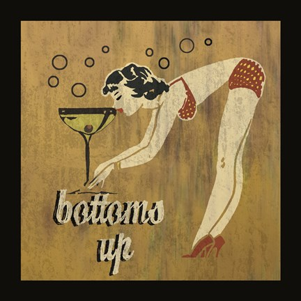 Bottoms Up by Erin Clark