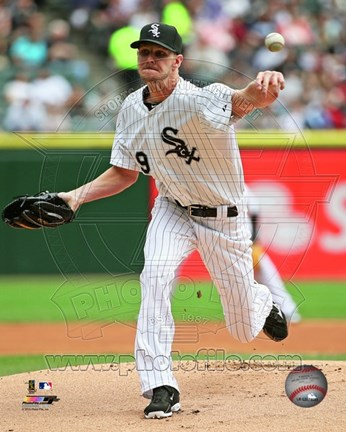 Framed Chris Sale 2015 Action Print