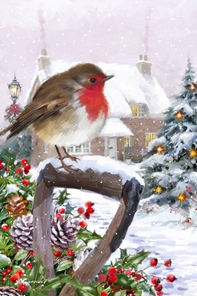 Robin 1 Fine Art Print By The Macneil Studio At