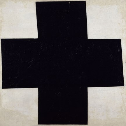 Framed Black Cross, 1915 Print
