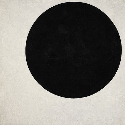 Framed Black Circle, c. 1923 Print