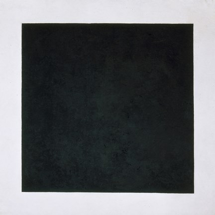 Framed Black Square, c. 1923 Print