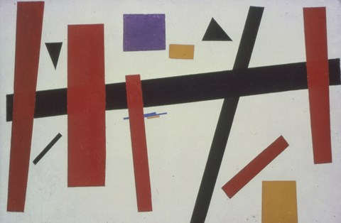 Framed Suprematism no 50 Print