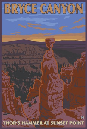 Framed Bryce Canyon Print