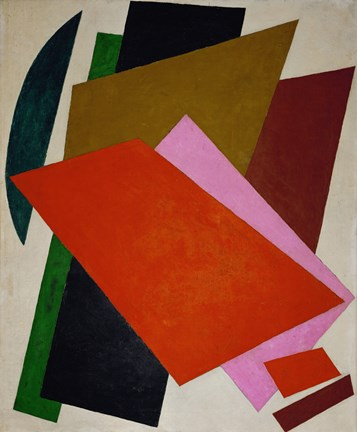 Composition by Liubov Popova