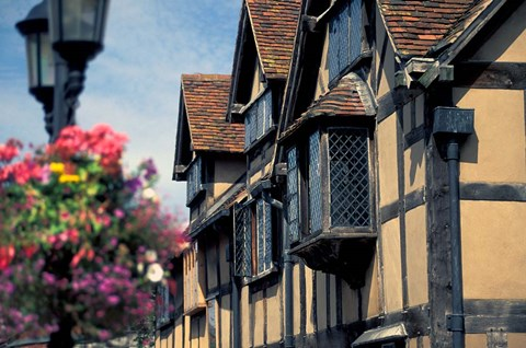 Framed Shakespeare's Birthplace, Stratford-on-Avon, England Print