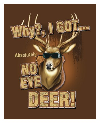 No Eye Deer Deer Elk Fine Art Print By Jim Baldwin At