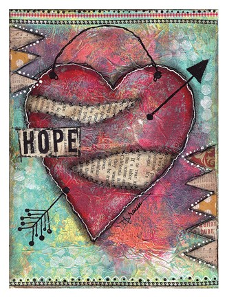 Hope Heart by Denise Braun