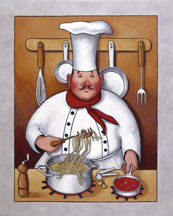 Chef Iv Fine Art Print By John Zaccheo At Fulcrumgallery Com
