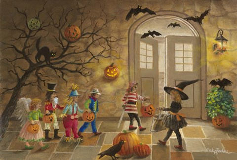 Halloween Fun Fine Art Print By Nicky Boehme At