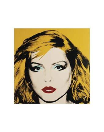 Framed Debbie Harry, 1980 Print
