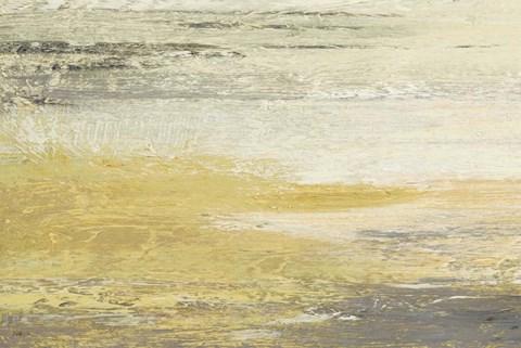 Studio Nova Siena Abstract Yellow Gray Landscape