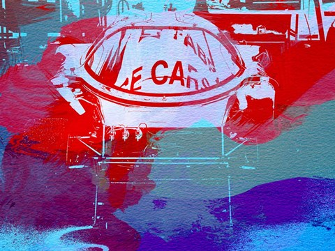 Framed Le Mans Racer During Pit Stop Print