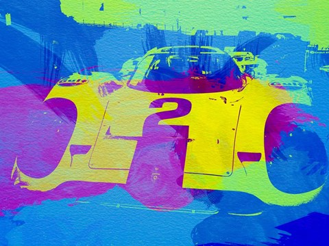 Framed Porsche 917 Front End Print