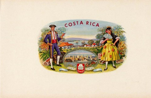 Framed Costa Rica Print
