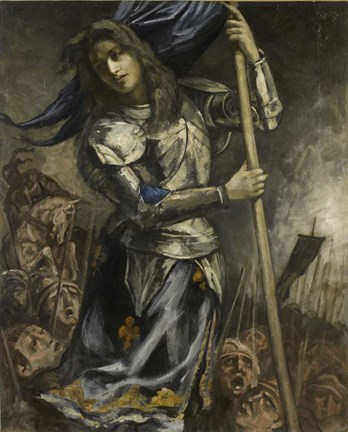 Joan Of Arc 1930 Fine Art Print By Emile Bernard At