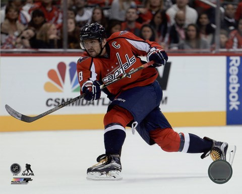 Alex Ovechkin 2015-16 Action Fine Art Print by Unknown at ... 0649ac4ae755