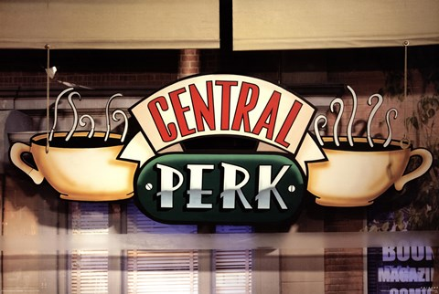 Framed Friends - Central Perk Window Print