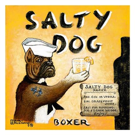 Salty Dog Fine Art Print by Ja...