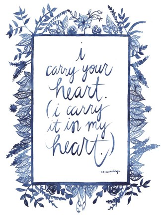 Framed Love Quote III Print