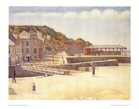 Framed Port-En-Bessin Print