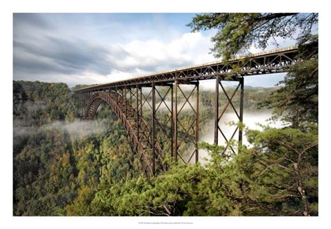 Framed New River Gorge Bridge Print